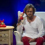 Alejandro Abad habla con su mujer e hijos en 'GH VIP 5'