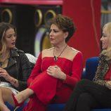 Alyson Rae Eckmann, Emma Ozores e Irma Soriano en la octava gala  'GH VIP 5'