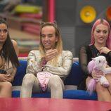 Elettra Lamborghini, Aless Gibaja y Daniela Blume en 'GH VIP 5'
