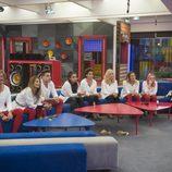 Los concursantes de 'GH VIP 5' vestidos de blanco