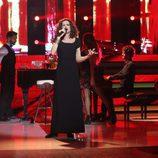 """Esther Arroyo canta """"El hombre del piano"""" en la decimosexta gala de 'Tu cara me suena'"""