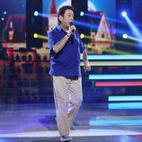 """Juan Muñoz canta """"I'm a believer"""" en la decimosexta gala de 'Tu cara me suena'"""