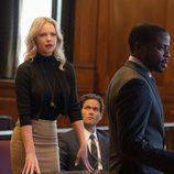 Katherine Heigl y Dulé Hill interpretan a Sadie y Albert respectivamente en 'Duda Razonable'