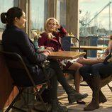 Reese Witherspoon, Nicole Kidman y Shailene Woodley en 'Big Little Lies'