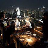 Las protagonistas de 'Viajeras con B' durante la grabación en Tailandia