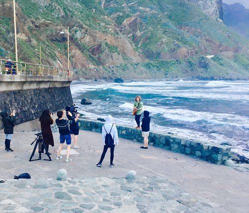"""Manel Navarro elige el mar de Tenerife para la grabación del videoclip de """"Do it for your lover"""""""