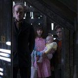 Los protagonistas de la adaptación televisiva de 'Una serie de catastróficas desdichas'