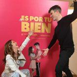 """Miguel Bernardeau y Georgina Amorós, divertidos en la promoción de """"Es por tu bien"""""""