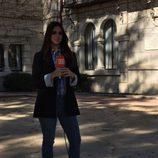 Elena Furiase en el reencuentro de 'El internado'