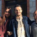 Elena Furiase, Fernando Tielve y Daniel Retuerta en el reencuentro de 'El internado'