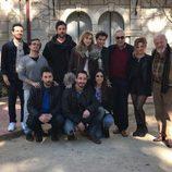 Algunos actores de 'El internado' en el reencuentro de la serie