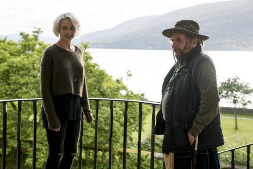 Tuppence Middleton en un balcón durante la segunda temporada de 'Sense8'