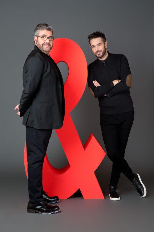 Dani Martínez y Florentino Fernández en las imágenes promocionales de 'Dani&Flo'