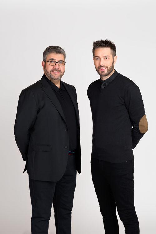 Florentino Fernández y Dani Martínez son los presentadores de 'Dani&Flo'