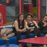 Daniela, Elettra, Irma y Alyson en la novena gala de 'GH VIP 5'