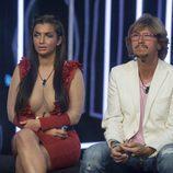 Elettra Lamborghini y Alejandro Abad esperan conocer quién es el expulsado de la novena gala de 'GH VIP 5'