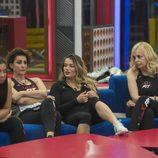 Elettra, Irma, Alyson y Emma en la novena gala de 'GH VIP 5'