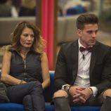 Ivonne Reyes y Sergio Ayala en la novena gala de 'GH VIP 5'