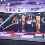 Los concursantes de 'GH VIP 5' bailan con Latin Fit en la novena gala