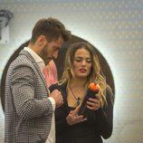 Marco Ferri y Alyson Rae Eckmann en la novena gala de 'GH VIP 5'