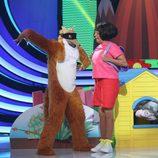 Yolanda Ramos caracteriza a Dora, la exploradora en la segunda semifinal de 'Tu cara me suena'