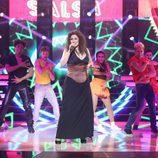 Rosa López es Gloria Estefan en la segunda semifinal de 'Tu cara me suena'