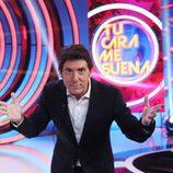 Manel Fuentes en la segunda semifinal de 'Tu cara me suena'