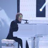 Juan Muñoz es John Lennon en la segunda semifinal de 'Tu cara me suena'