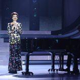 Esther Arroyo dio vida a July Garland en la segunda semifinal de 'Tu cara me suena'