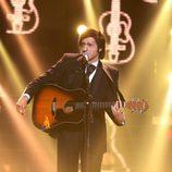 David Guapo interpretó a Johnny Cash en la segunda semifinal de 'Tu cara me suena'