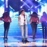Blas Cantó fue uno de los finalistas de 'Tu cara me suena'