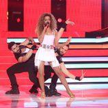 Beatriz Luengo es Beyoncé en la segunda semifinal de 'Tu cara me suena'