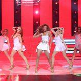Beatriz Luengo interpretó un tema de Beyoncé en la semifinal de 'Tu cara me suena'