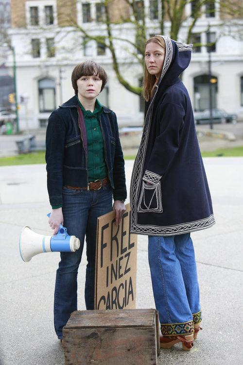 La actriz Caitlin Gerard es Jean en 'When We Rise'