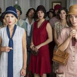 Ana Fernández, Blanca Suárez y Nadia de Santiago son tres de las protagonistas de 'Las chicas del cable'