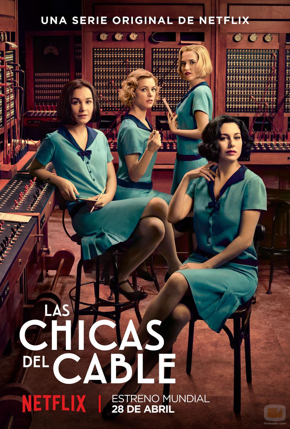 Cartel de 'Las chicas del cable'