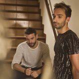 Jacinto Angosto e Iván Villar en la webserie gay 'Al salir me esperas'