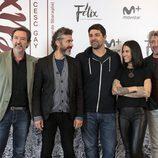 El reparto de 'Félix' en la rueda de prensa de la serie
