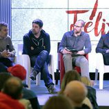 Cesc Gay y los protagonistas de 'Félix' en la rueda de prensa de la ficción