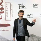Leonardo Sbaraglia en la rueda de prensa de 'Félix'