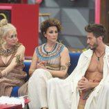 Emma Ozores, Irma Soriano y Marco Ferri en la décima gala de 'GH VIP 5'