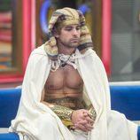 Sergio Ayala disfrazado de faraón en la décima gala de 'GH VIP 5'