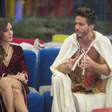 Aylén y su novio,  Marco Ferri, en la décima gala de 'GH VIP 5'