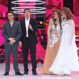 Blas Cantó, Lorena Gómez y Rosa López descubren quién es el candidato que ocupa el tercer puesto de la final de 'TCMS 5'