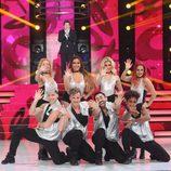 El grupo de bailarines de la gala final de 'Tu cara me suena 5'