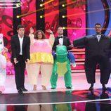 El jurado de 'Tu cara me suena' aparecen con unos trajes divertidos en la final del programa