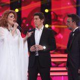 Lorena Gómez impresiona a Àngel Llàcer y Manel Fuentes en la gala final de 'Tu cara me suena 5'