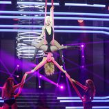 Beatriz Luengo es Pink en la gala final de 'Tu cara me suena 5'