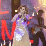 Rosa López es Gloria Trevi en la gala final de 'Tu cara me suena 5'