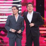 Blas Cantó y Manel Fuentes, en la gala final de 'Tu cara me suena 5'